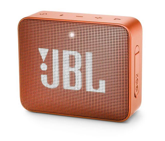 JBL Go 2, compact portable speaker with battery, IPX7 waterproof, Orange pārnēsājamais skaļrunis