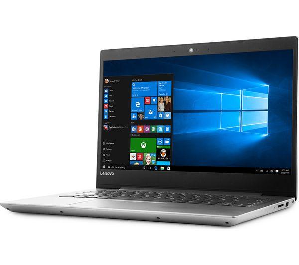 """Lenovo IdeaPad 320S-14IKB 14""""FHD/i3-7100U/4GB/128GB SSD(M2)/Win10 Silver Portatīvais dators"""