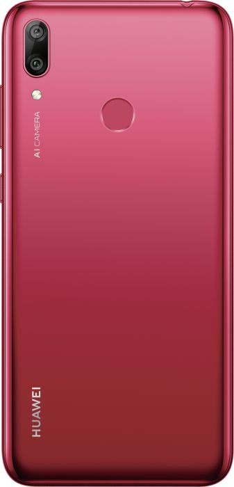 Huawei Y7 2019 - 6.26 - 32GB - Android - Coral Red Mobilais Telefons