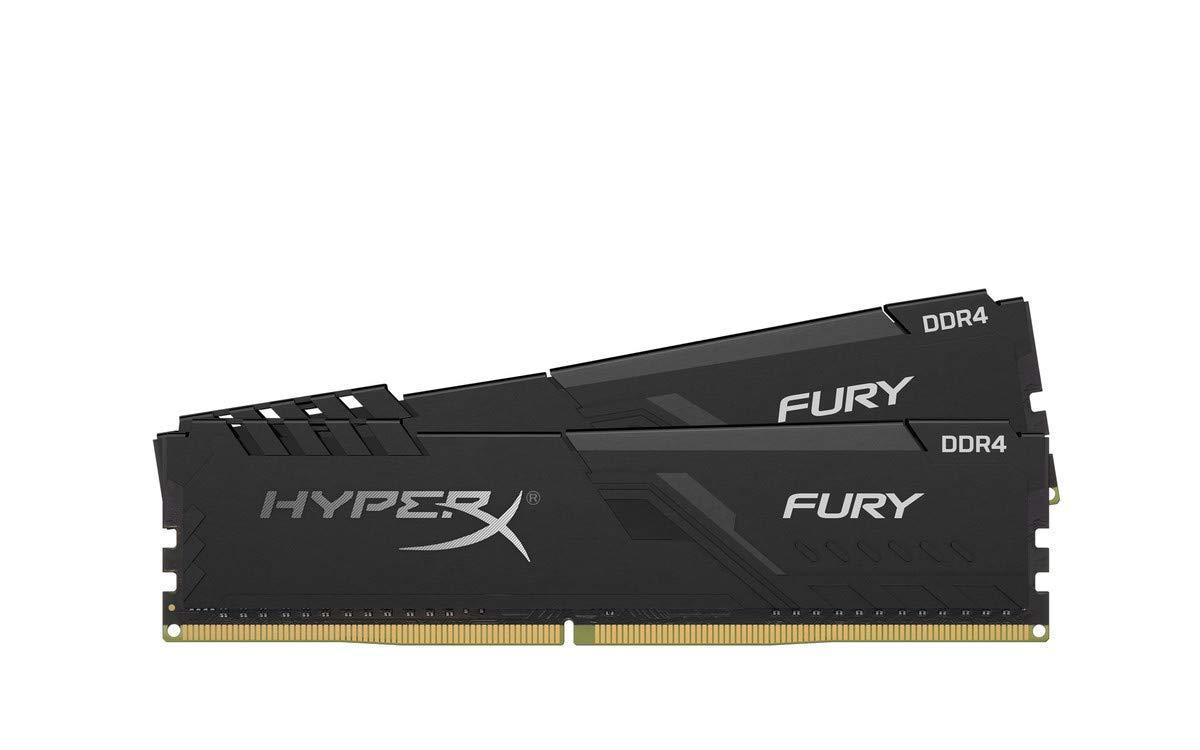Kingston HyperX FURY 8GB 3200MHz DDR4 CL16 DIMM (Kit of 2) Black operatīvā atmiņa