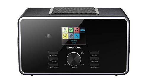 Grundig DTR 6000 2.1 DAB+BT WEB black radio, radiopulksteņi
