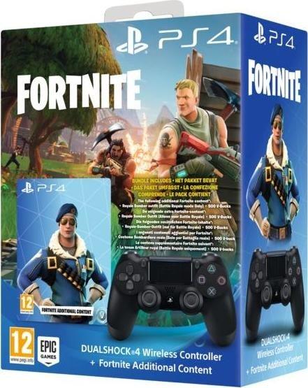 Sony Playstation PS4 Dualshock V2 Controller V.2 Fortnite Neo Versa black spēļu konsoles gampad