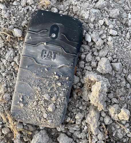 CAT Caterpillar S42 black Mobilais Telefons