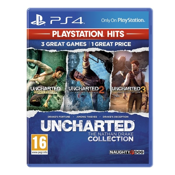 Sony Game PS4 Uncharted Collection Hits