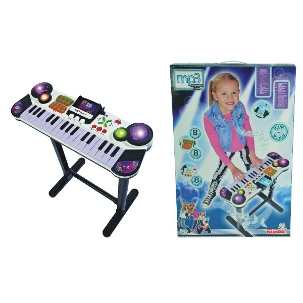 Simba Keyboard with stand (106832609) mūzikas instruments