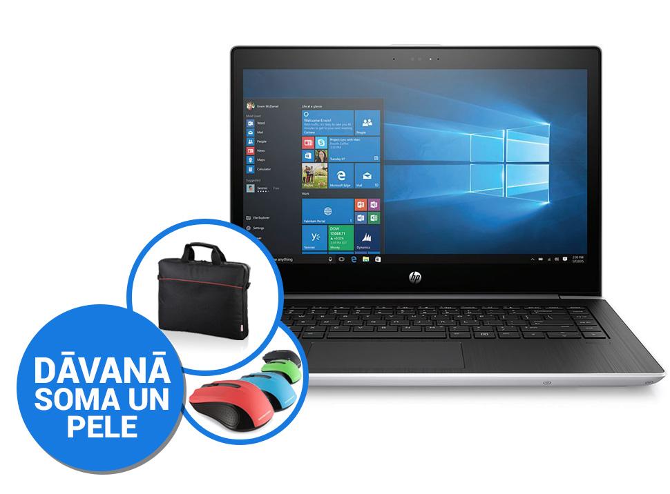"""HP 440 G5 14""""FHD Matt/i5-8250U/8GB/256GB SSD NVMe/Win10 PRO (2Y Onsite garantija) (soma, pele) Portatīvais dators"""