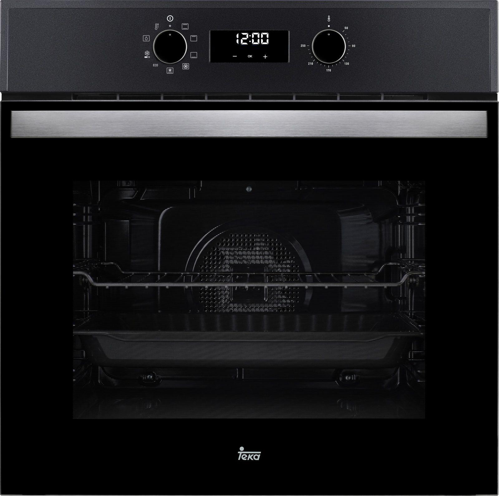 HBB 720 Oven black Cepeškrāsns