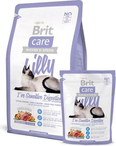 Brit Care Cat Lilly I've Sensitive Digestion 2kg kaķu barība