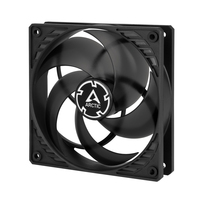 ARCTIC 120*120*25 P12 PWM PST (black/transparent) ventilators