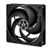 Arctic fan  P12 Silent (black/black) ventilators