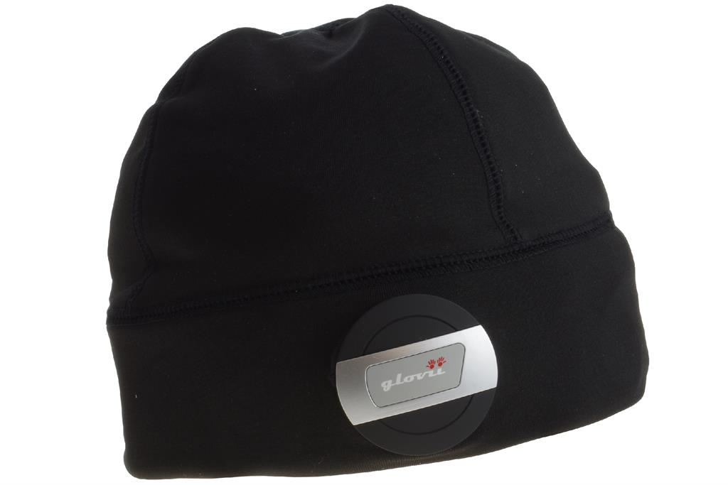 Glovii - Bluetooth beanie, UNI, black