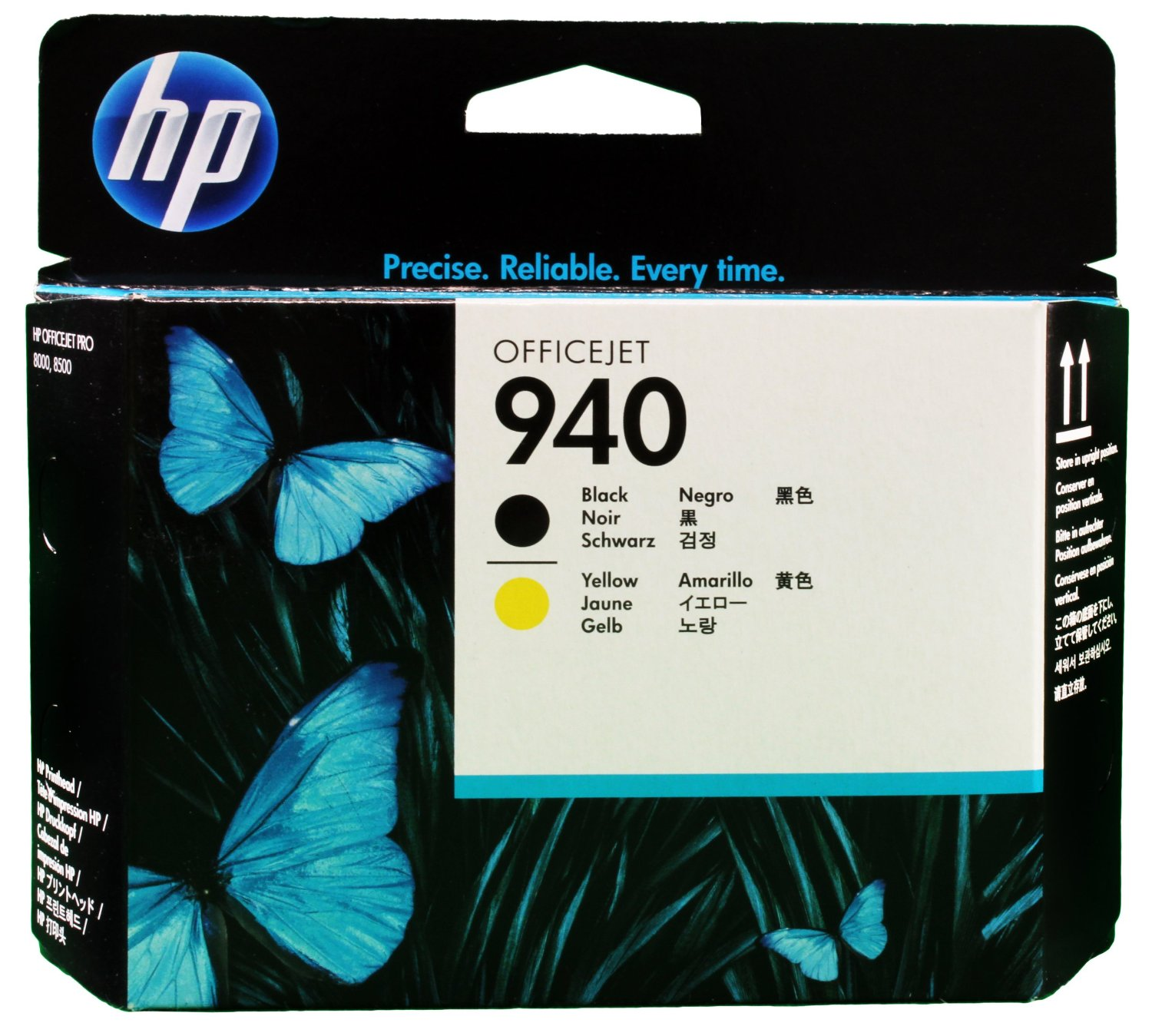 HP No. 940 Black + zolta [Glowica]