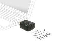 DELOCK USB3 Dualband WLAN-Stick mini 867Mbps