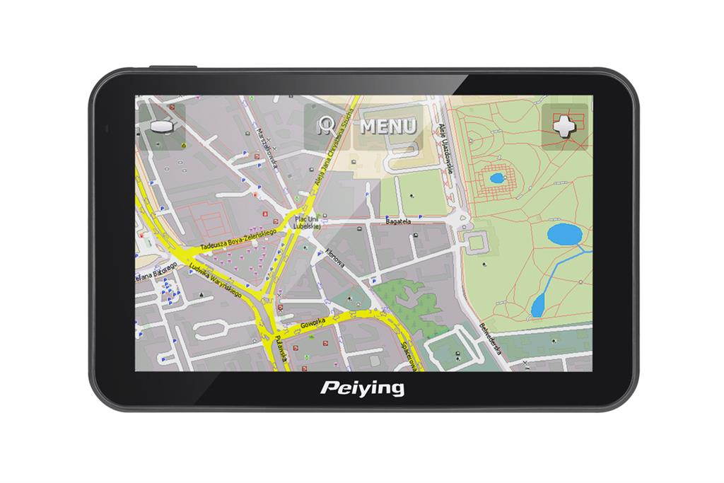 Satellite Navigation Peiying PY-GPS5014 with a map Navigācijas iekārta