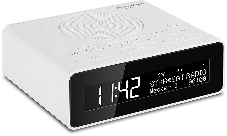 Radiobudzik Technisat Technisat DigitRadio 51 white - 0001/4981 radio, radiopulksteņi