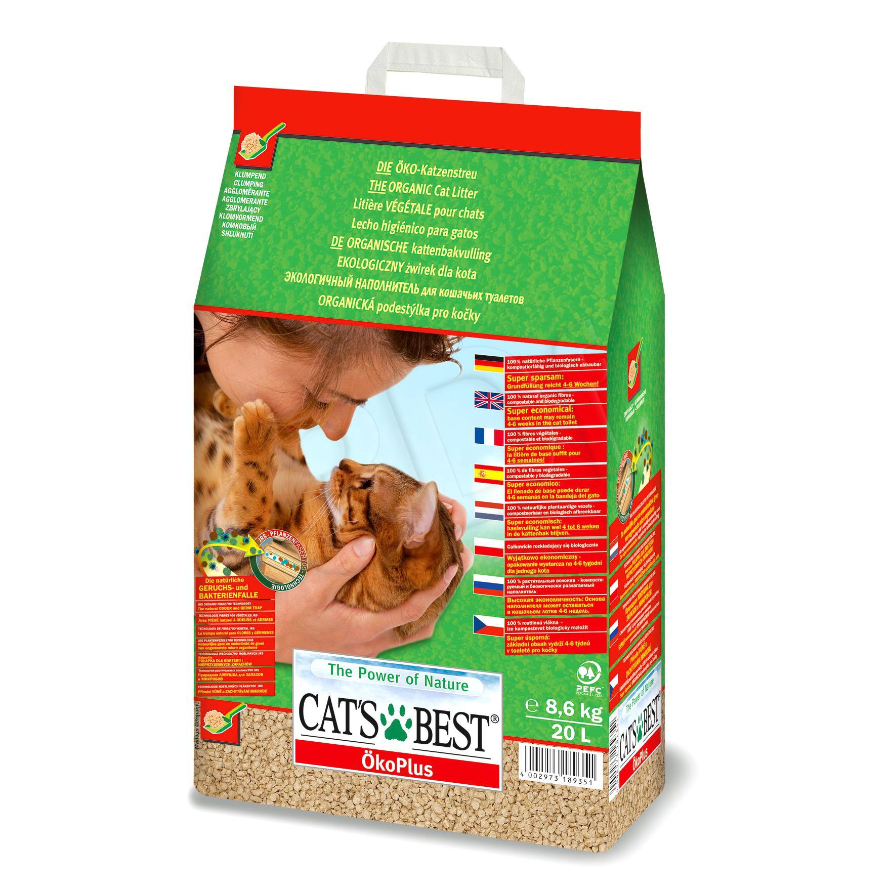 Cats Best Eco Plus 20l piederumi kaķiem