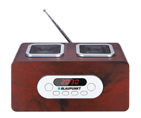 Blaupunkt FM PLL, SD/USB/AUX, rechargeable battery radio, radiopulksteņi