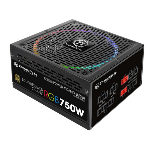 Thermaltake Toughpower Grand RGB 750W Modular (80+ Gold, 4xPEG, 140mm) Barošanas bloks, PSU