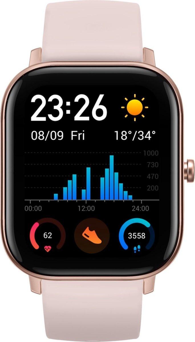 Xiaomi Amazfit GTS Rose pink Viedais pulkstenis, smartwatch