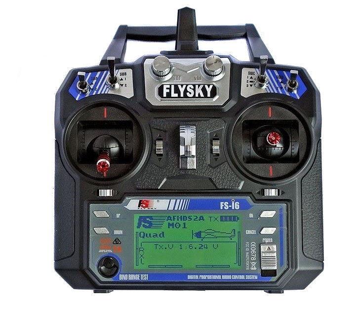 FlySky FS-i6 6CH 2.4GHz + iA6 receiver with telemetry FS-I6+IA6