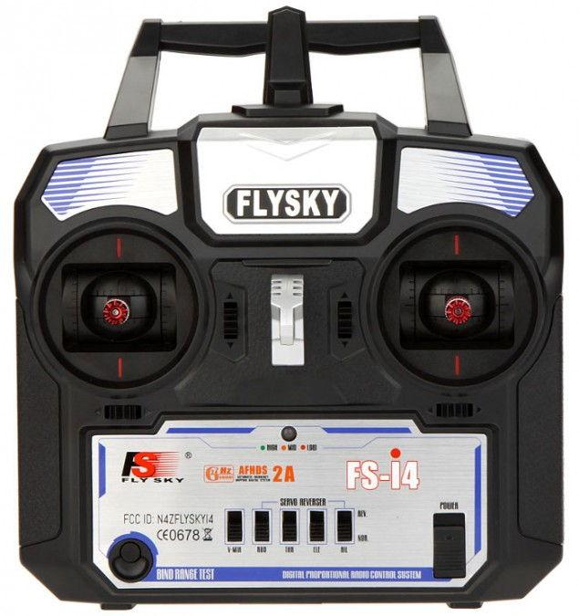 FlySky FS-i4 4CH 2.4GHz + receiver A6 FS-I4+A6