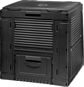 Keter Komposta kaste E-Composter Without Base 470L melna Dārza mēbeles