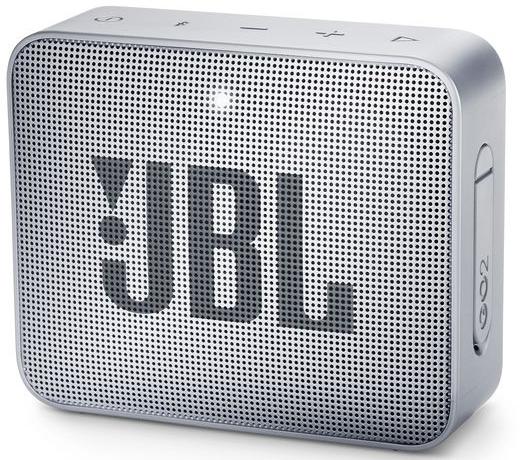 JBL Go 2, compact portable speaker with battery, IPX7 waterproof, Grey pārnēsājamais skaļrunis