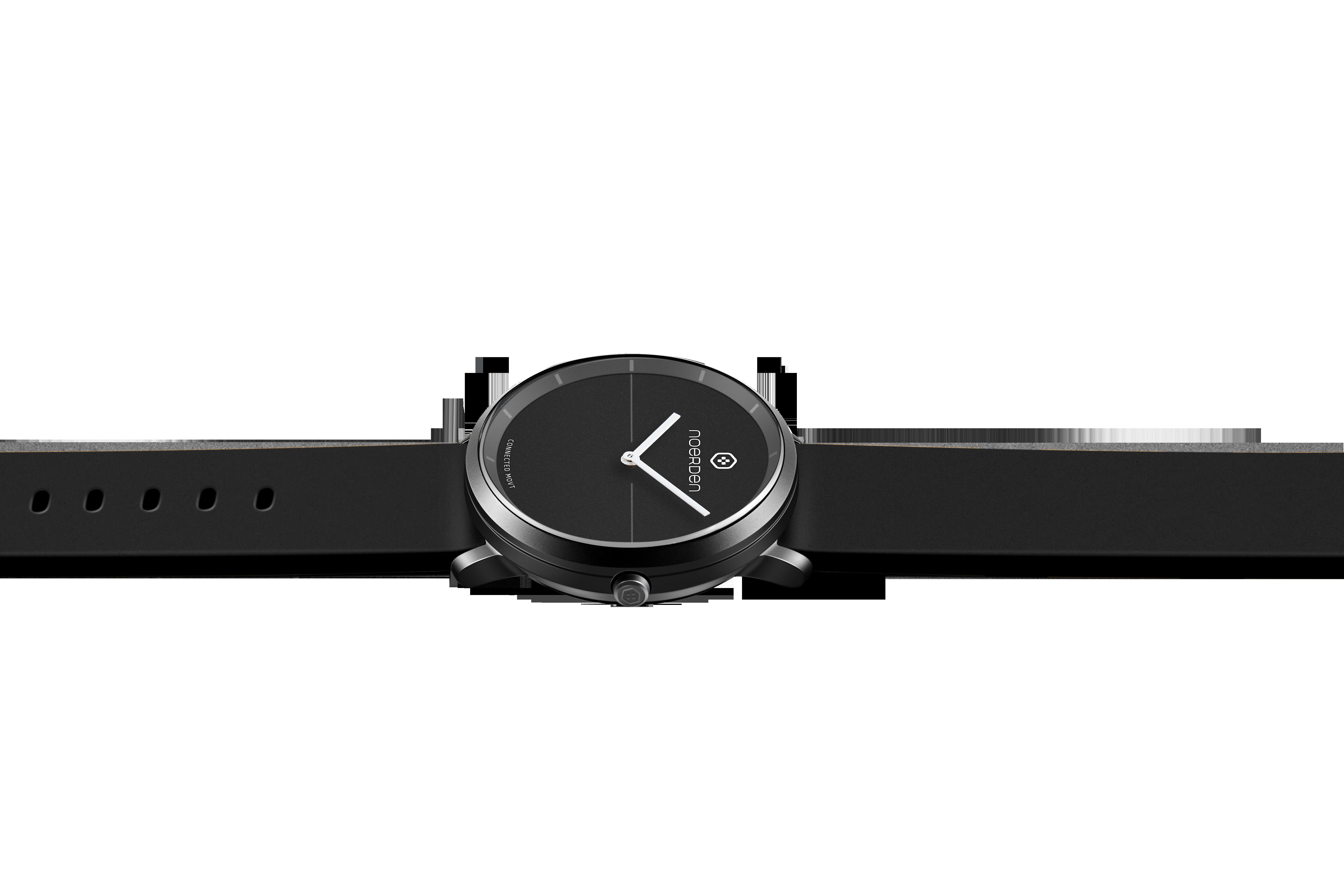 NOERDEN LIFE2 BLACK + dāvanā papildus siksniņa Viedais pulkstenis, smartwatch