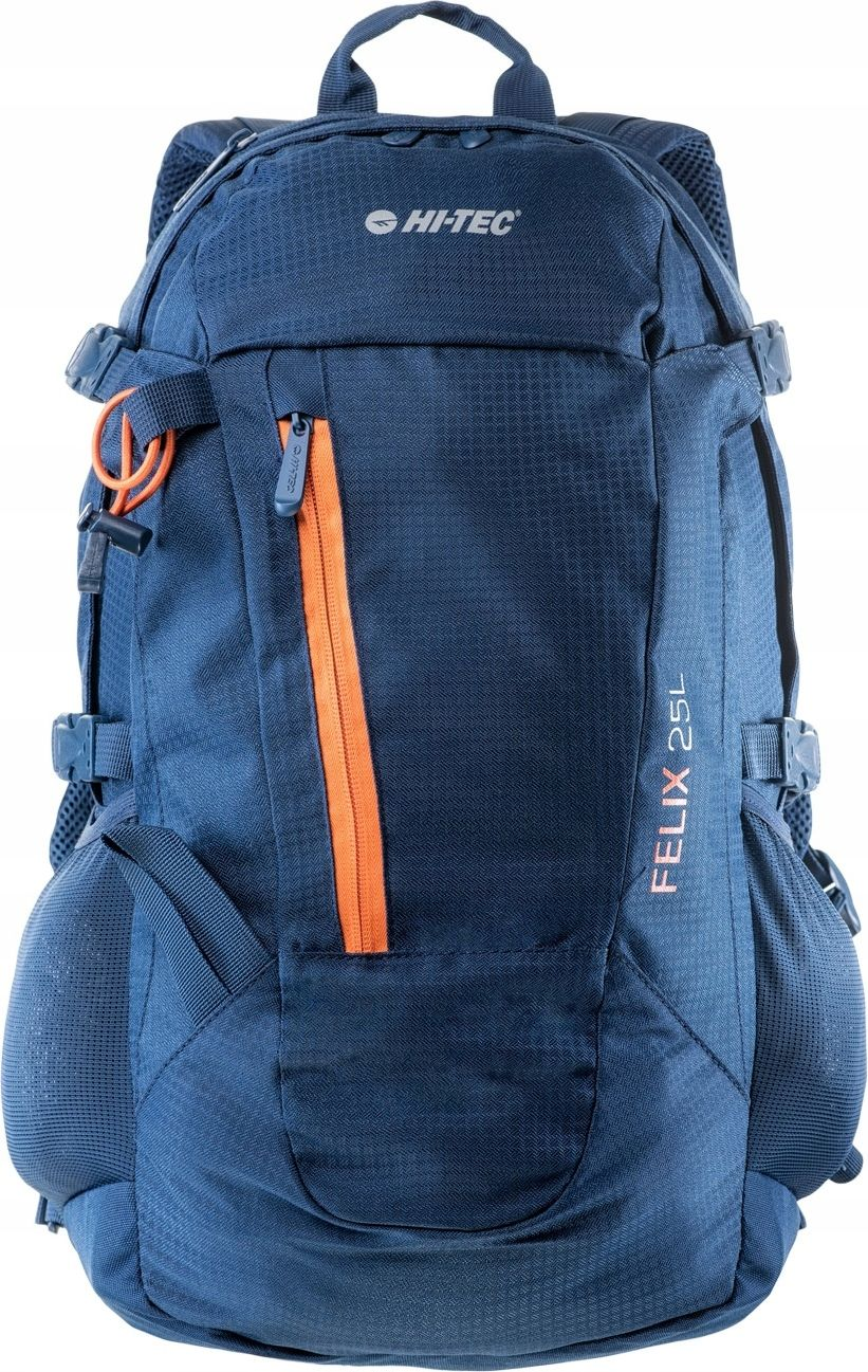 Hi-tec Sport backpack Felix 25L Insignia Blue / Orange Peel Tūrisma Mugursomas