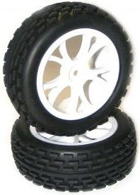 VRX Racing Buggy 1:10 front wheels 2pcs - 10302