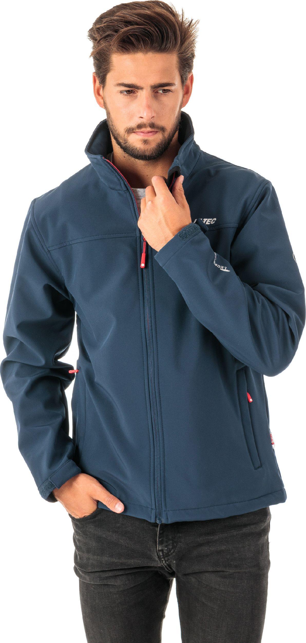 Hi-tec Men's jacket LINGEN Navy / Orange Red s. M