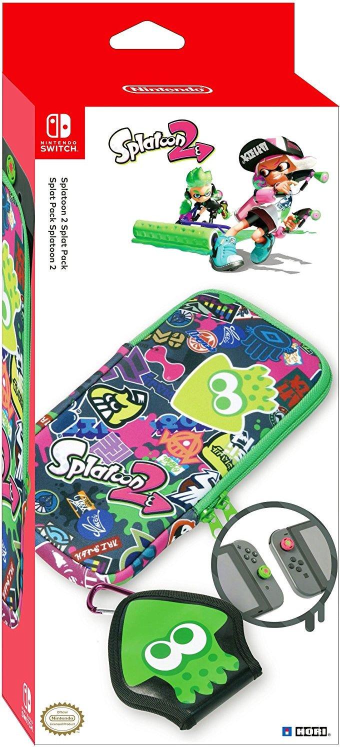 HORI Zestaw Splatoon 2 Splat Pack (nsw-048u) nsw-048u spēļu aksesuārs