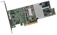 LSI MegaRAID SAS/SATA 9361-4i   SGL 4-Port intern 12Gb/s matricas