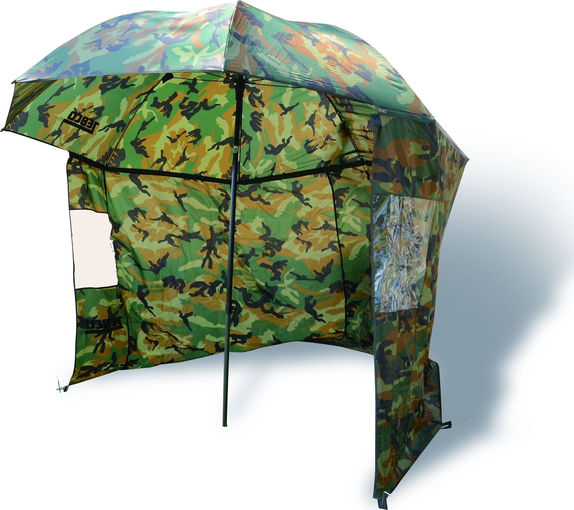 Zebco Umbrella with sides Camu Ø2,20m (9974253) Lietussargs