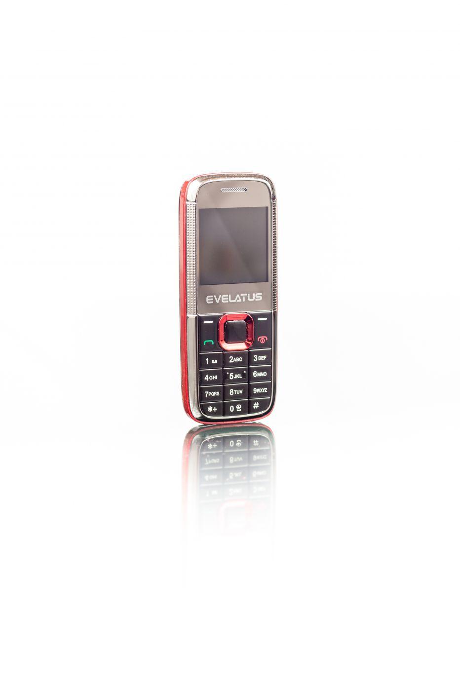 Evelatus  Mini DS (EM01) Black Red EM01RED Mobilais Telefons