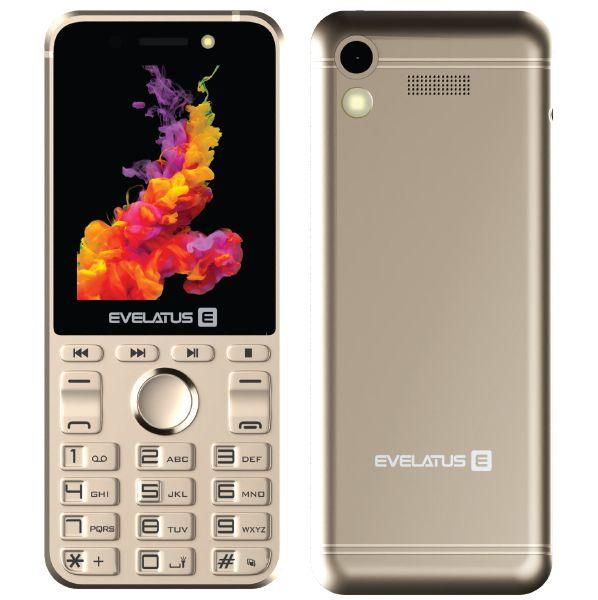 Evelatus Tron Dual Sim Gold (LAT, RUS, ENG) Mobilais Telefons
