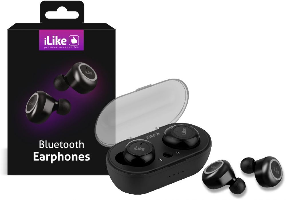 ILike Bluetooth Earbuds IBE01 Black