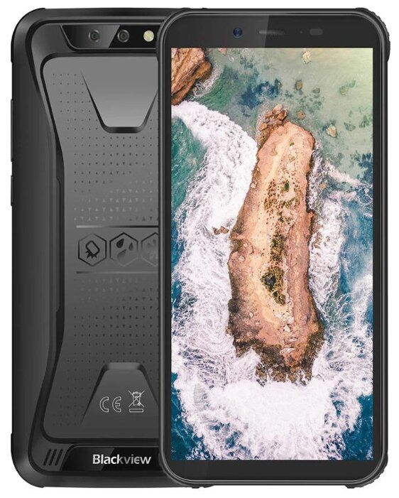 Blackview BV5500 2GB/16GB Black Mobilais Telefons