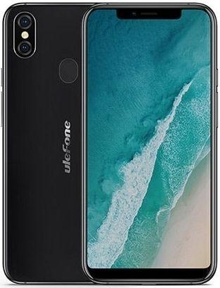UleFone  X 4/64GB DS Black ULXBLK Mobilais Telefons