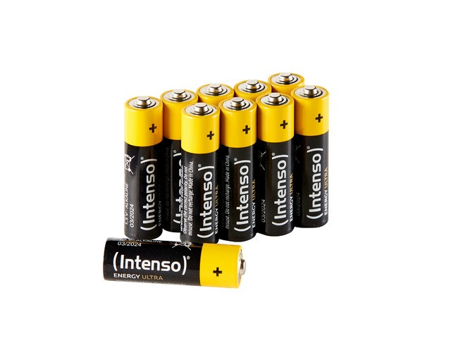 Intenso Alkaline Battery LR3 AA (10pcs) Baterija