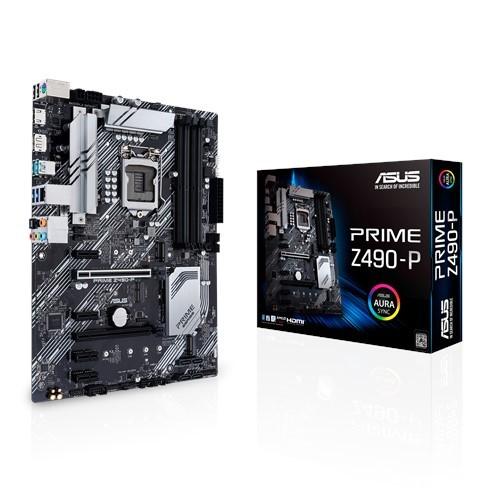 ASUS Prime Z490-P pamatplate, mātesplate