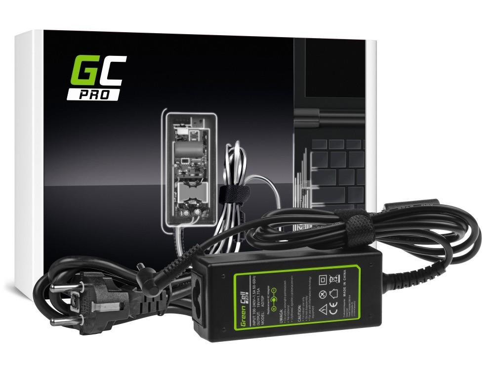 Green Cell PRO for Asus 19V | 1.75A | 33W | 4.0mm-1.35mm portatīvo datoru lādētājs