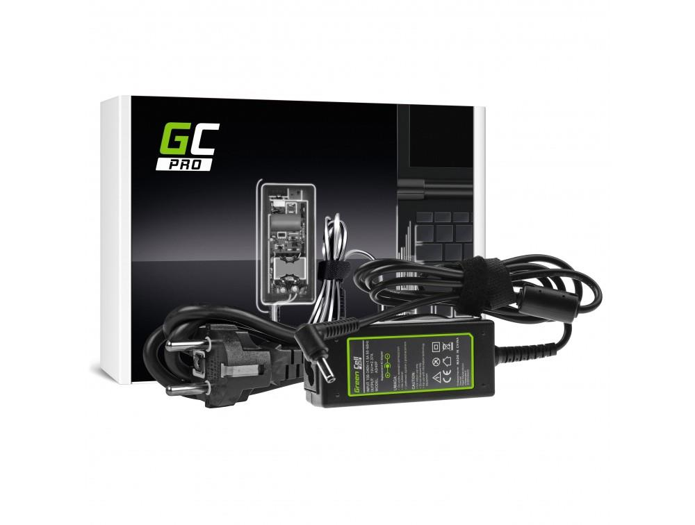Green Cell PRO 19V 2.37A 45W Power Supply Charger for Asus R540 X200C X200M X201 portatīvo datoru lādētājs