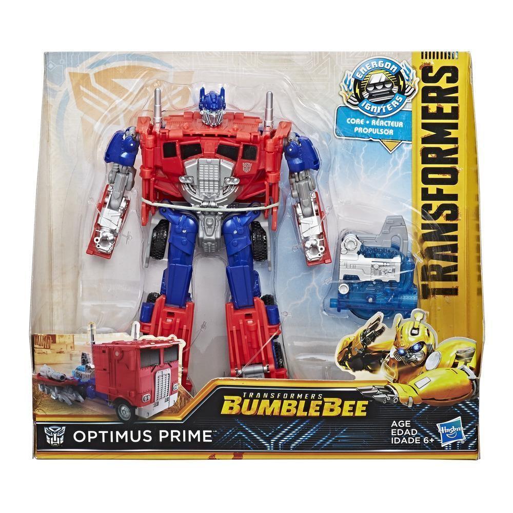 Hasbro Figure Transformers MV6 Energon Igniters Nitro - Optimus