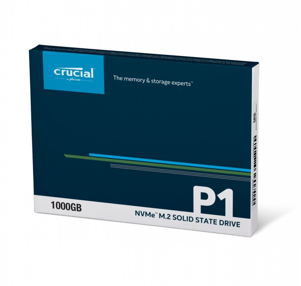 Crucial P1 1TB 3D NAND NVME PCIe M.2 SSD SSD disks