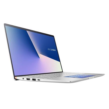 Asus ZenBook UX433FLC-A5337T Silver, 14 , FHD, 1920 x 1080 pixels, Matt, Intel Core i7,  i7-10510U, 16 GB, SSD 1000 GB, Intel UHD Graphics 6 Portatīvais dators