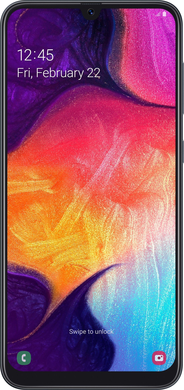 Smartfon Samsung Galaxy A50 Enterprise Edition 128 GB Dual SIM Czarny  (SM-A505FN/DS) SM-A505FN/DS Mobilais Telefons