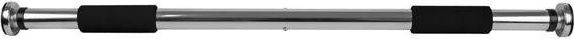 Spokey SHAPER1 Expansion bar, 62-100 cm, Silver/black 5902693280996