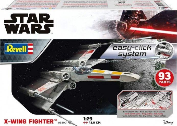REVELL Star Wars X-Wing Fighter Easyclick Rotaļu auto un modeļi