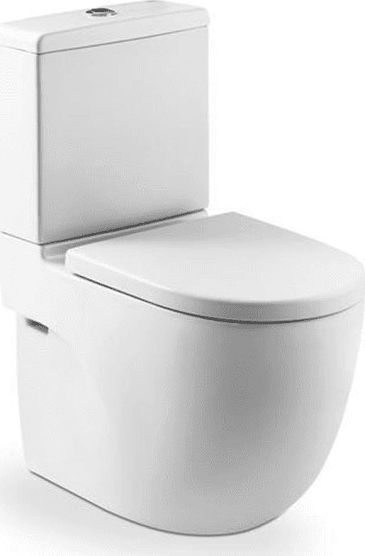 ROCA Meridian-N Compacto double toilet bowl MaxiClean Compacto white (A34224800M)